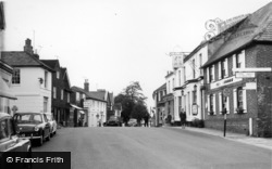 Henfield, George Hotel c.1960