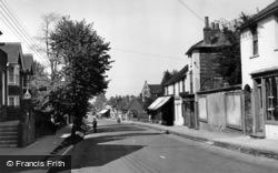 Henfield, High Street c.1955