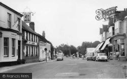 Henfield, High Street c.1960