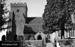 Henfield, St Peter's Church c.1955