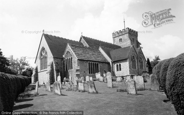 Photo of Henfield, St Peter's Church c.1965