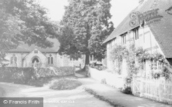 Henfield, The Tan Yard And Church c.1955