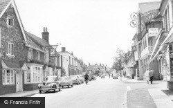 Henfield, The White Hart And High Street c.1960