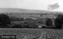 Henfield, View Of The Downs c.1955