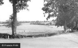 Henfield, View Of The Downs c.1960