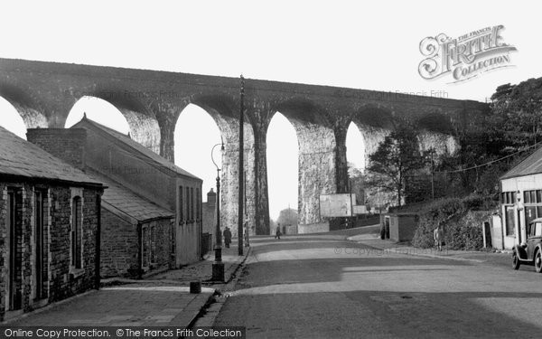 Hengoed, the Viaduct 1952
