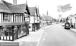 Henley-In-Arden, High Street 1959