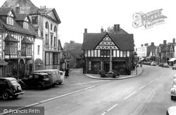 Henley-In-Arden, Market Square 1959