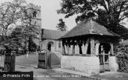 Henley-In-Arden, St Nicholas Church And Lychgate c.1960