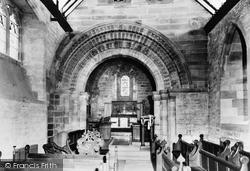 Henley-In-Arden, St Nicholas Church Interior c.1960