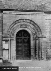 Henley-In-Arden, St Nicholas Church, Norman Door c.1960