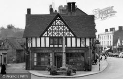 Henley-In-Arden, The Market Cross 1959