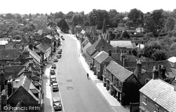 Henley-In-Arden, View From St John's Church Tower 1949