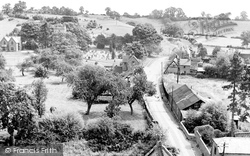 Henley-In-Arden, View From St John's Church Tower c.1950