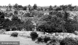 Henley-In-Arden, View From The Mount c.1950