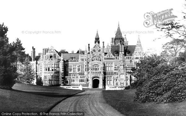 Henley-On-Thames, Friar Park, the Drive c1900