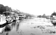 Henley-on-Thames, Houseboats, Solomons Hatch 1899