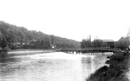 Henley-on-Thames, Marsh Mill And Bridge 1893