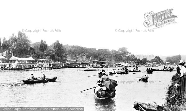 Henley-On-Thames, Regatta 1890