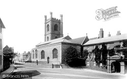 Henley-on-Thames, St Mary's Church And Red Lion Hotel 1893