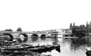 Henley-on-Thames, The Bridge 1890