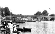 Henley-on-Thames, The Bridge 1899