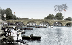 The Bridge 1899, Henley-on-Thames