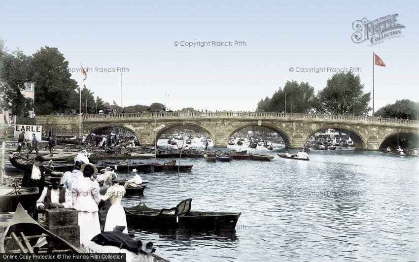 Henley-on-Thames, the Bridge 1899