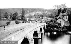 Henley-on-Thames, The Bridge c.1870