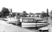 Henley-on-Thames, The Promenade c.1965