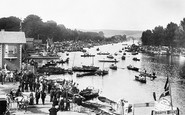 Henley-On-Thames, the Regatta 1890
