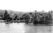 Henley-on-Thames, View From Red Lion Hotel Gardens 1893