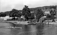 Henley-on-Thames, View From Towpath Approach c.1955
