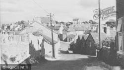 Henllan, From Church Street c.1960