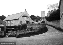 Henllan, Institute And Tower 1936