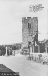 Henllan, The Church Tower c.1960