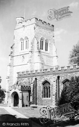 St Mary's Church c.1955, Henlow