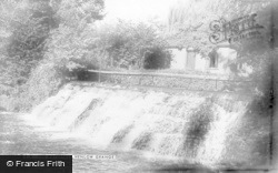 The Waterfall, Henlow Grange c.1955, Henlow