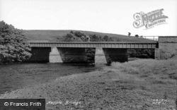 Bridge c.1955, Hepple