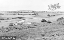 Hepple, From Whitefield c.1955
