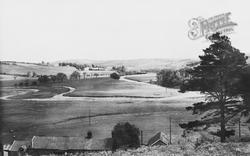 Hepple, General View, Harehaugh c.1955