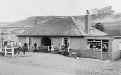 Hepple, Shop And Filling Station c.1955