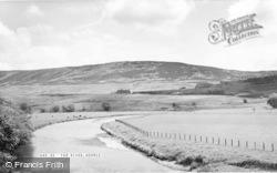 Hepple, The River c.1955