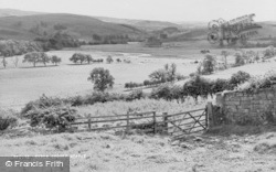 Hepple, The River Coquet c.1955