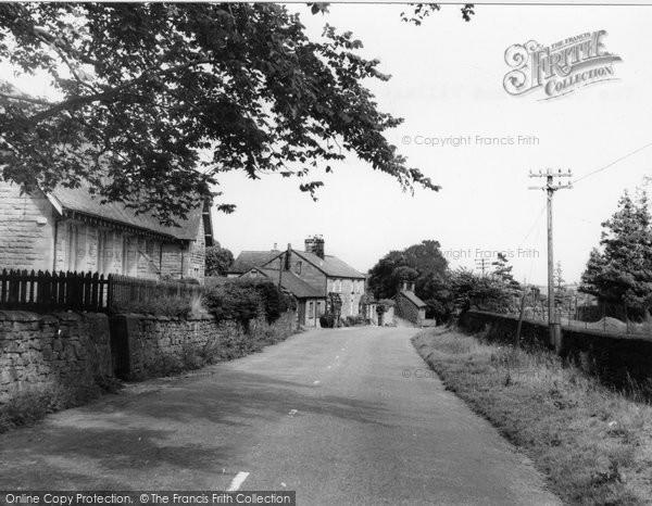 Hepple, the School and Village c1955