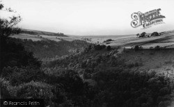 Heptonstall, Hardcastle Crags Looking North c.1965