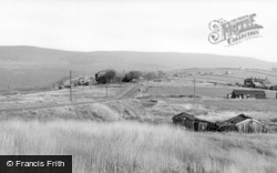 Heptonstall, Slack Top From Moor Road c.1960