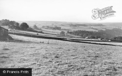 Heptonstall, View From Waterloo House c.1965
