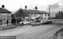 Heptonstall, Waterloo House From Slack Top c.1965