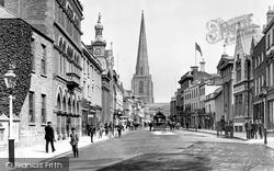 Broad Street c.1900, Hereford